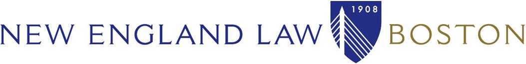 NEW ENGLAND SCHOOL OF LAW logo