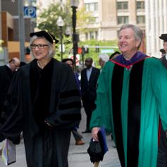 Chief Justice of Canada Beverley McLachlin delivers New England Law's Commencement address
