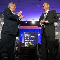 US Supreme Court Chief Justice John G. Roberts, Jr., shares insights with New England Law