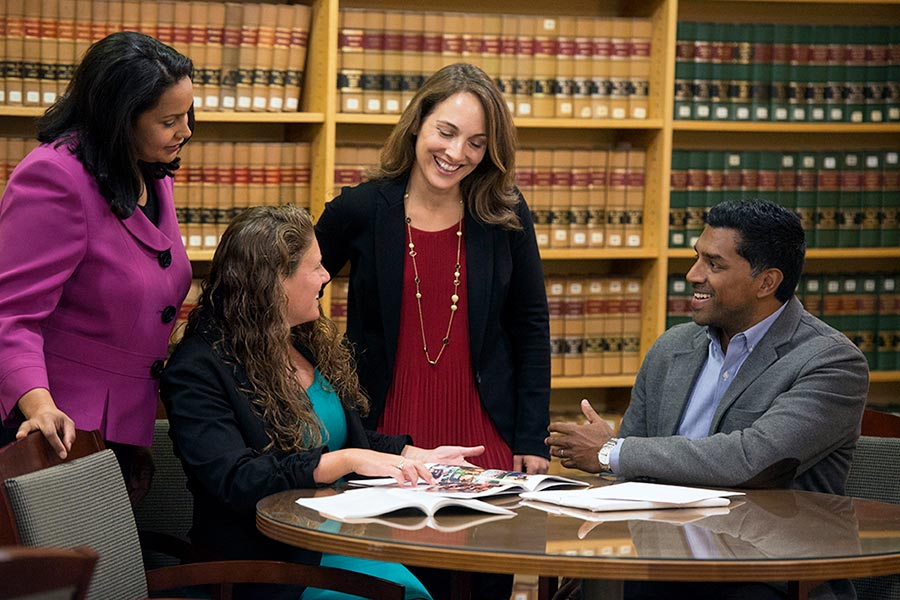 New England Law Career Services staff