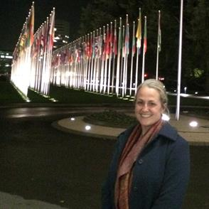 Professor Laplante attends Geneva Business and Human Rights Forum