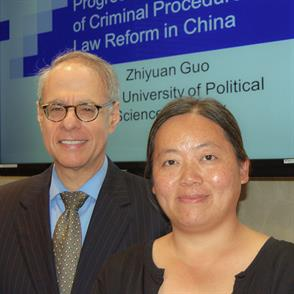 Chinese legal scholar visits New England Law | Boston
